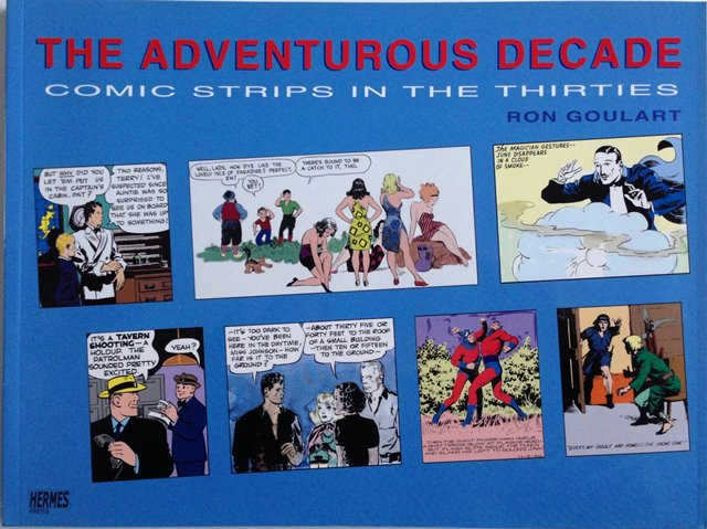 Front cover of The Adventurous Decade by Ron Goulart