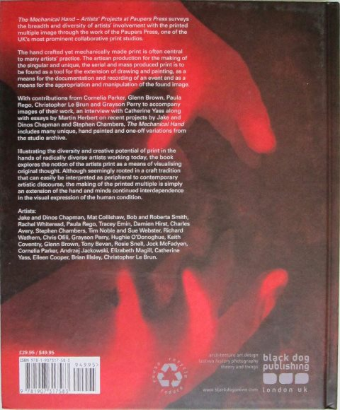Back cover of The Mechanical Hand by Michael Taylor