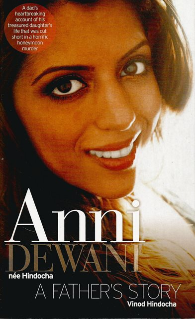 Front cover of Anni Dewani by Vinod Hindocha
