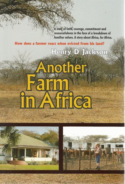 Back cover of Another Farm in Africa by Henry D Jackson