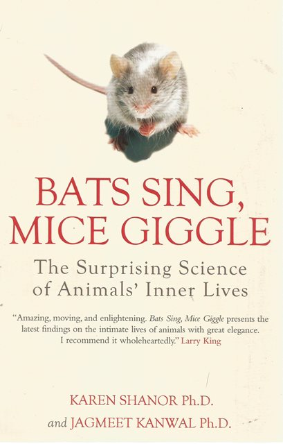 Front cover of Bats Sing, Mice Giggle by Karen Shanor and Jagmeet Kanwal