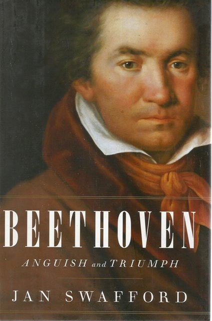 Front cover of Beethoven by Jan Swafford