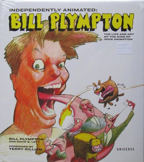 Front cover of Independently Animated: Bill Plympton by Bill Plimpton