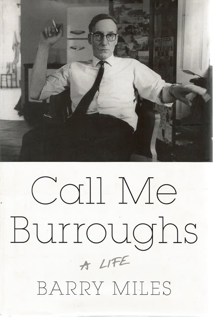 Front cover of Call Me Burroughs by Barry Miles
