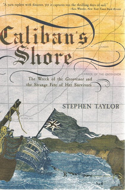 Front cover of Caliban's Shore by Stephen Taylor