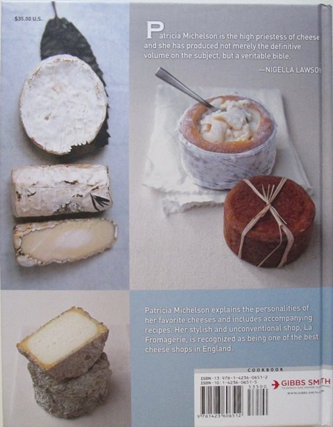 Back cover of Cheese by Patricia Michaelson