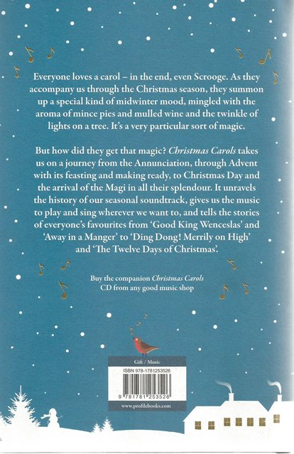 Back cover of Christmas Carols by Andrew Gant