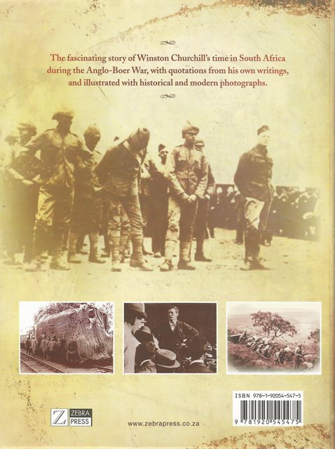 Back cover of Churchill's South Africa by Chris Schoeman