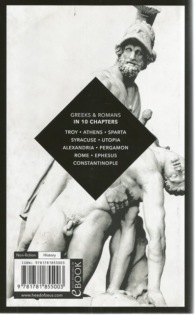 Back Cover of Classical Civilization by Nigel Spivey