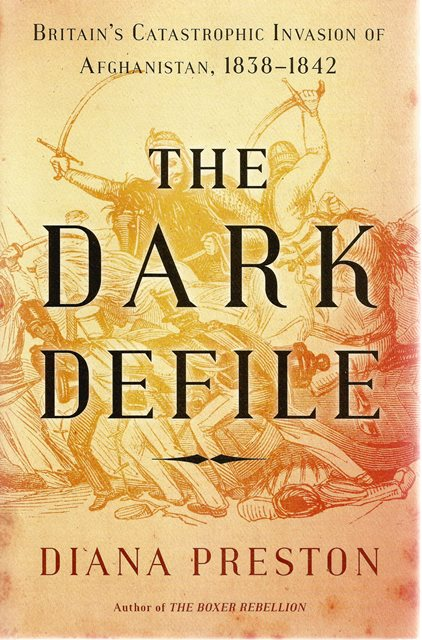 Front cover of The Dark Defile by Diana Preston