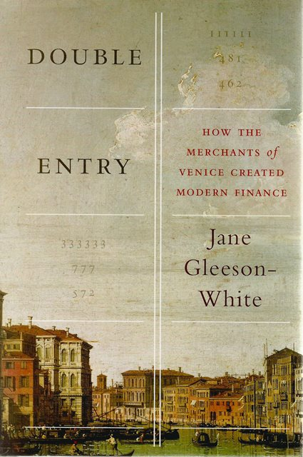 Front cover of Double Entry by Jane Gleeson-White