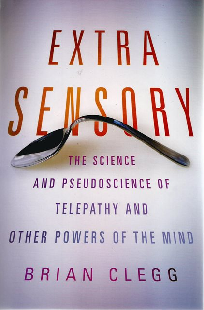 Front cover of Extra Sensory by Brian Clegg