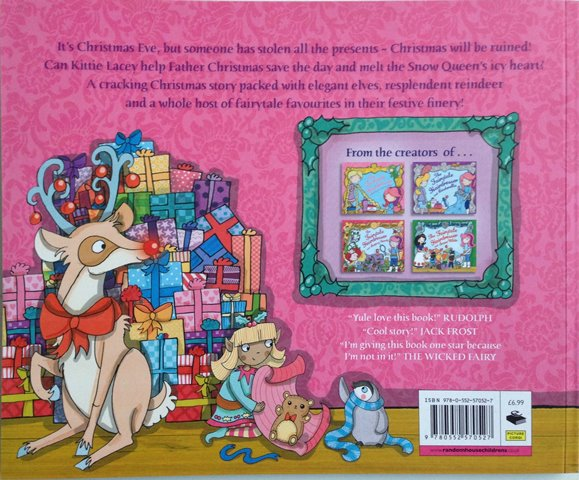 Back cover of The Fairytale Hairdresser and Father Christmas by Abie Longstaff