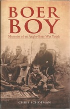 Front cover of Boer Boy by Chris Schoeman