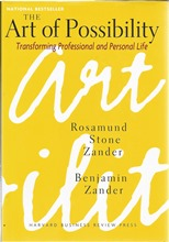 Front cover of The Art of Possibility by Rosamund Stone Zander & Benjamin Zander