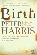 Back cover of Birth by Peter Harris