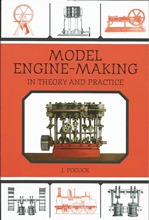 Front cover of Model Engine-Making by J Pocock