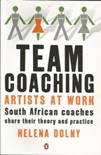 Front cover of Team Coaching by Helena Dolny