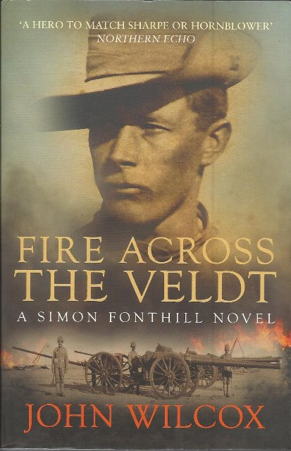Front cover of Fire Across the Veldt by John Wilcox