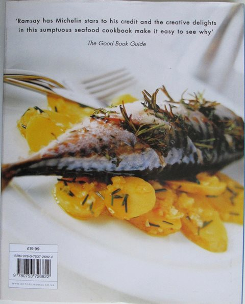 Back cover of Gordon Ramsay's Passion for Seafood by Gordon Ramsay