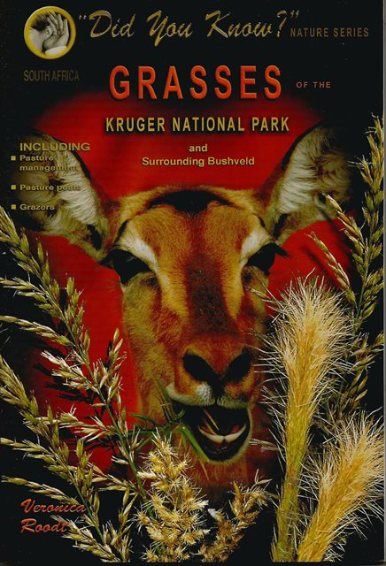 Front cover of Grasses of the Kruger National Park by Veronica Roodt