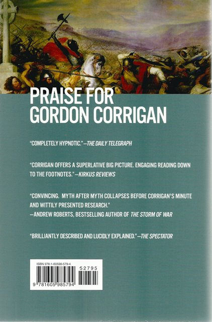 Back cover of A Great and Glorious Adventure by Gordon Corrigan