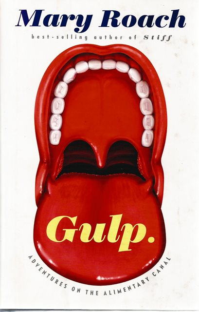 Front cover of Gulp. by Mary Roach