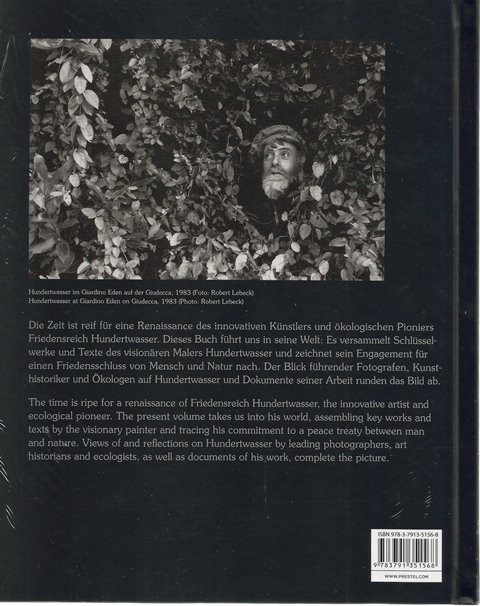 Back cover of Hundertwasser edited by Andreas Hirsch