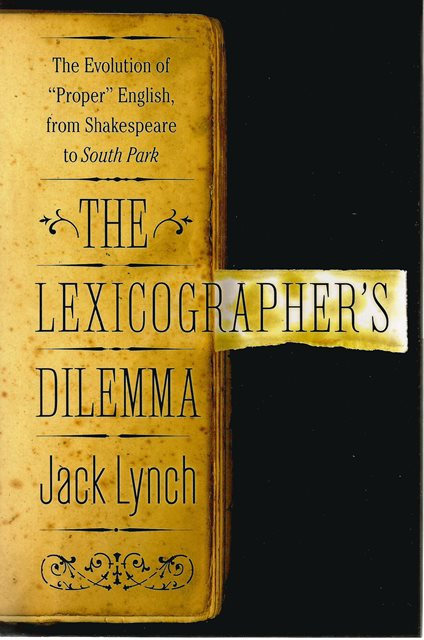 Front cover of The Lexicographers Dilemma by Jack Lynch