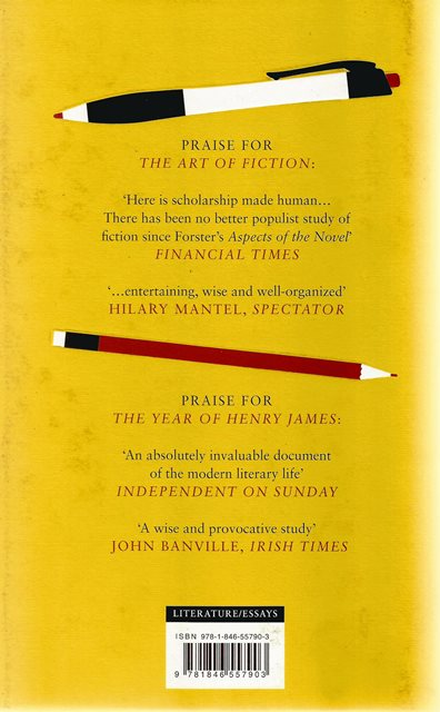 Back cover of Lives in Writing by David Lodge