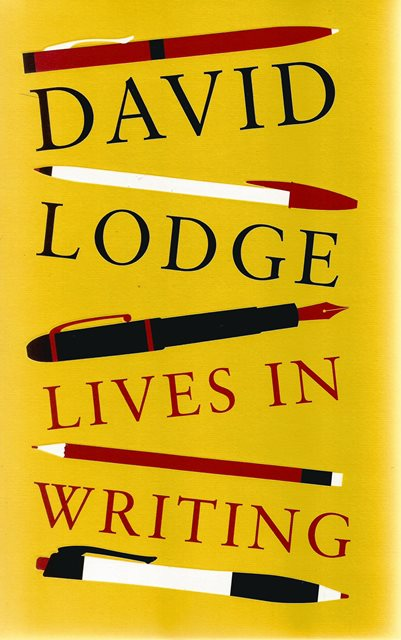 Front cover of Lives in Writing by David Lodge