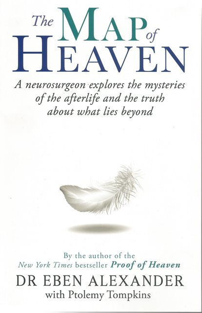 Front cover of The Map of Heaven by Dr Eben Alexander
