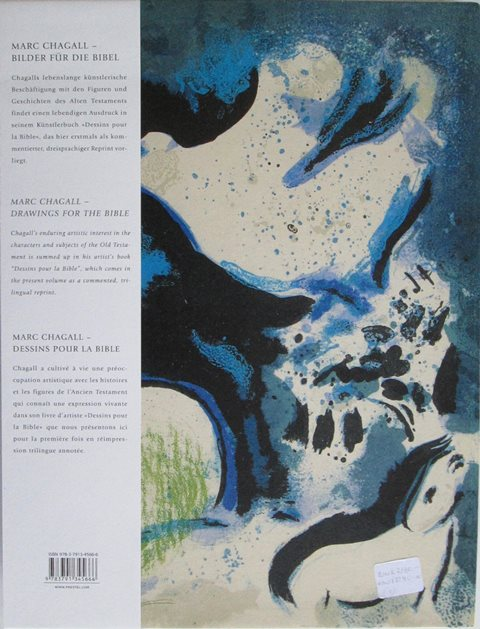 Back cover of Marc Chagall - Drawings for the Bible