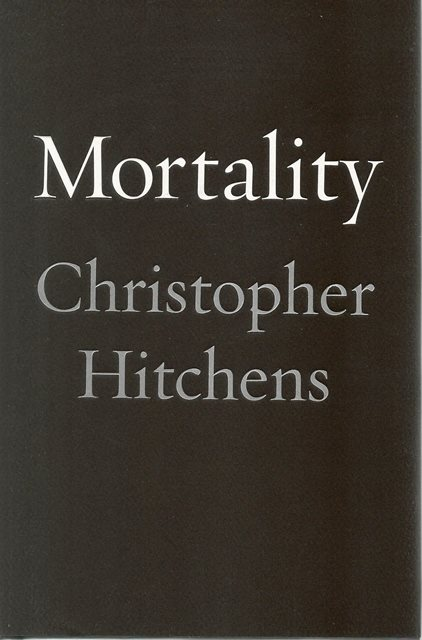 Front cover of Mortality by Christopher Hitchens