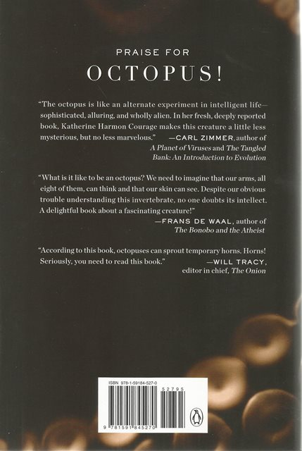 Back cover of Octopus! by Katherine Harmon Courage