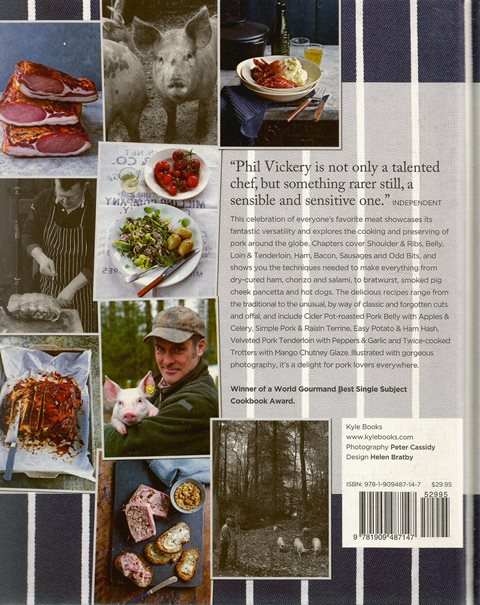 Back cover of Pork by Phil Vickery and Simon Boddy
