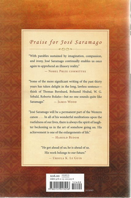 Back cover of Raised From the Ground by Jose Saramago