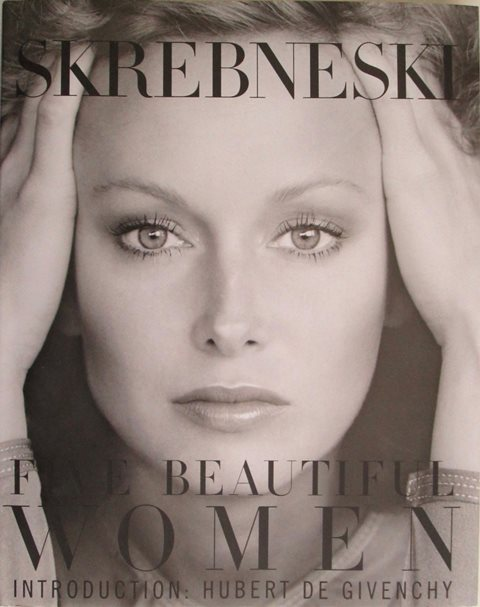 Front cover of Five Beautiful Women by Victor Skrebneski