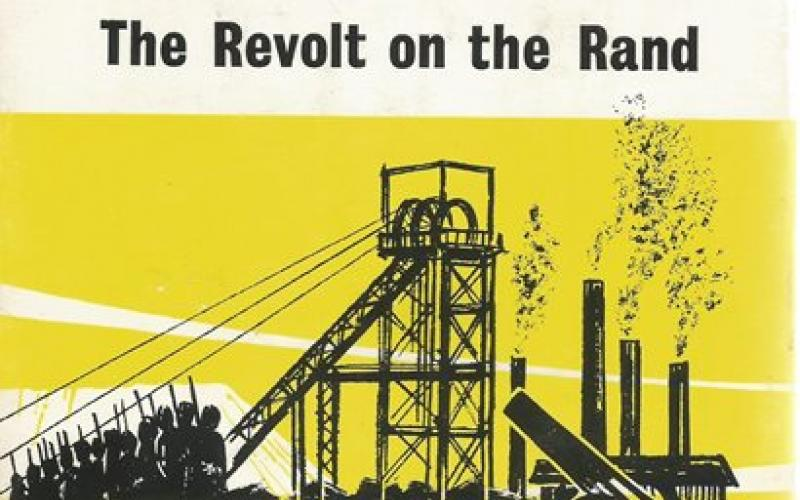 Front Cover of 1922 The Revolt on the Rand by Norman Herdk