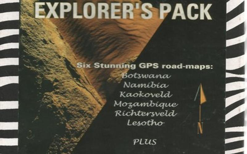 Front Cover of The Ultimate 4x4 Explorer's Pack by InfoMap