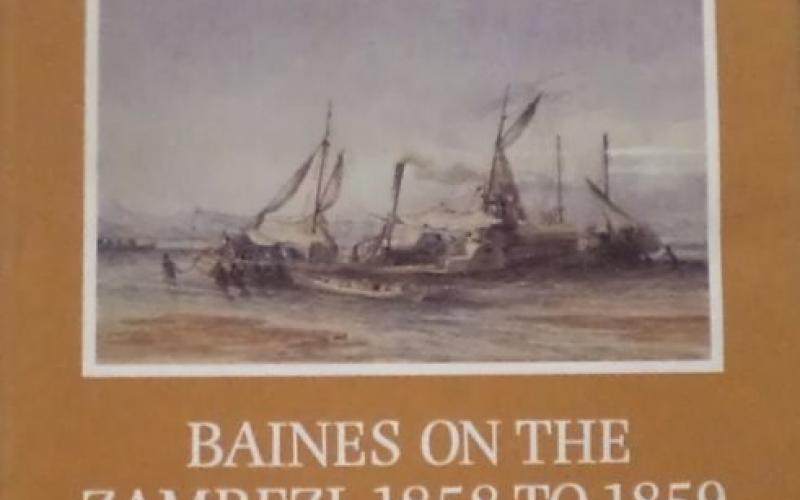 Front cover of Baines on the Zambezi, 1858 to 1859 by Edward C. Tabler