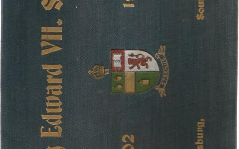 Front Cover of King Edward VII school 1902 -1924