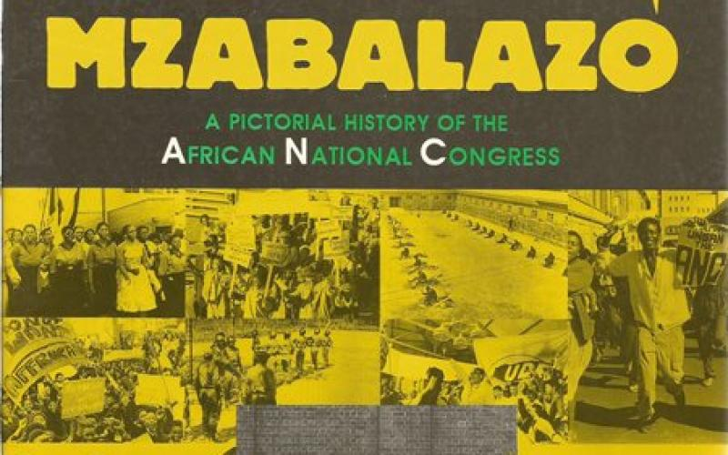 Front cover of Mzabalazo by Barry Feinberg & Andre Odendaal