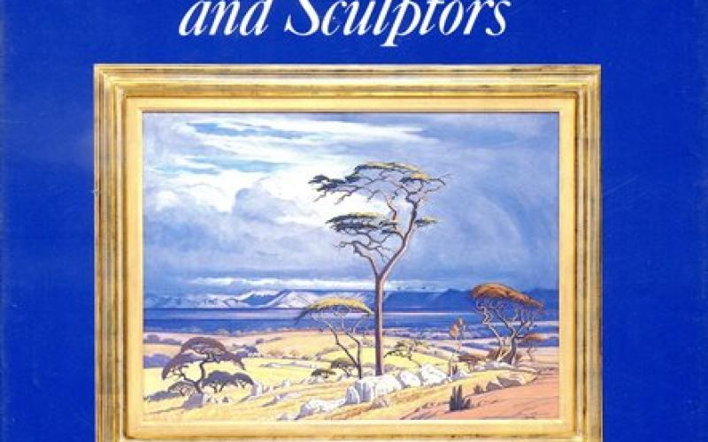 Front Cover of The Dictionary of South African Painters and Sculptors by Grania Ogilvie
