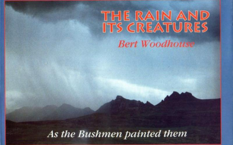 Front cover of The Rain And Its Creatures by Bert Woodhouse