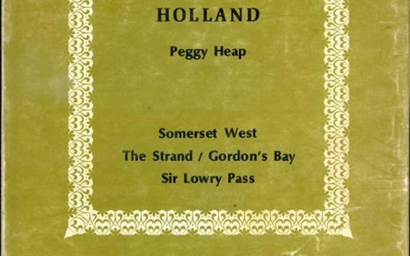 Front cover of The Story of Hottentots Holland by Peggy Heap