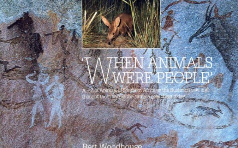 Front cover of When Animals Were People by Bert Woodhouse