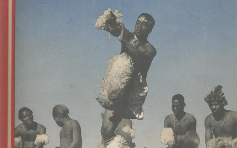 Front cover of African Dances of the Witwatersrand Gold Mines by Hugh Tracey