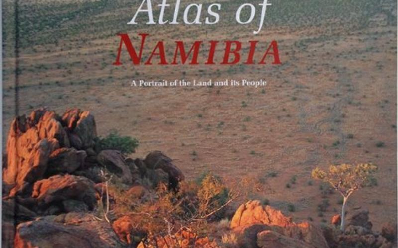 Front Cover of Atlas of Namibia by John Mendelsohn, Alice Jarvis, Carole Roberts and Tony Robertson