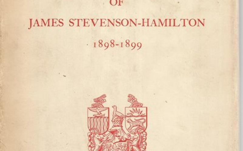Front Cover of The Barotseland Journal of James Stevenson-Hamilton 1898-1899 edited by JPR Wallis